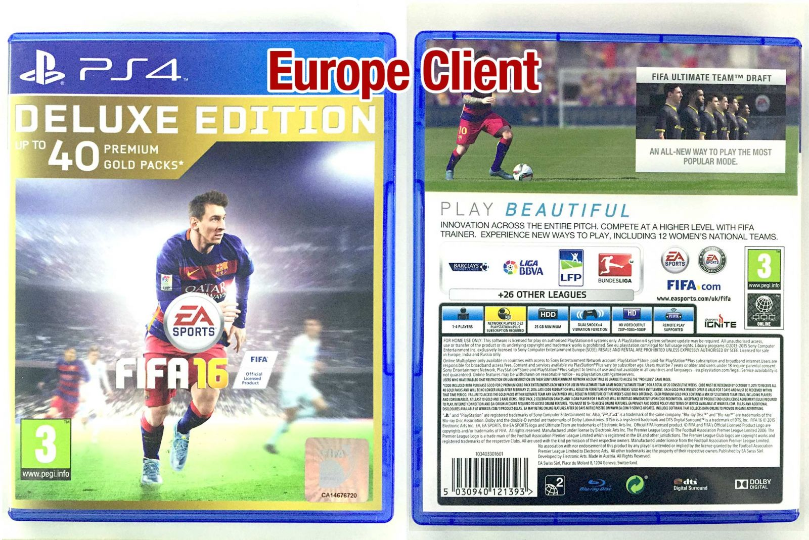 How To Distinguish The Fifa 16 Ps4 Disk Version In
